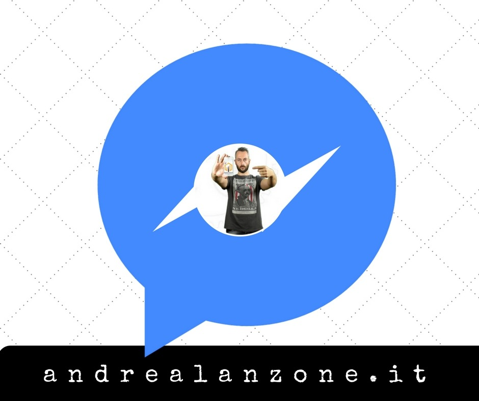 contattami con facebook
