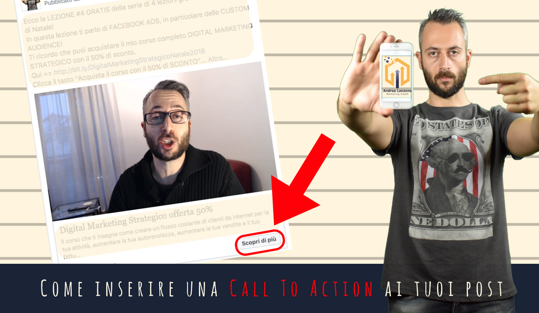 Come Aggiungere un pulsante con call to action ai tuoi post su Facebook